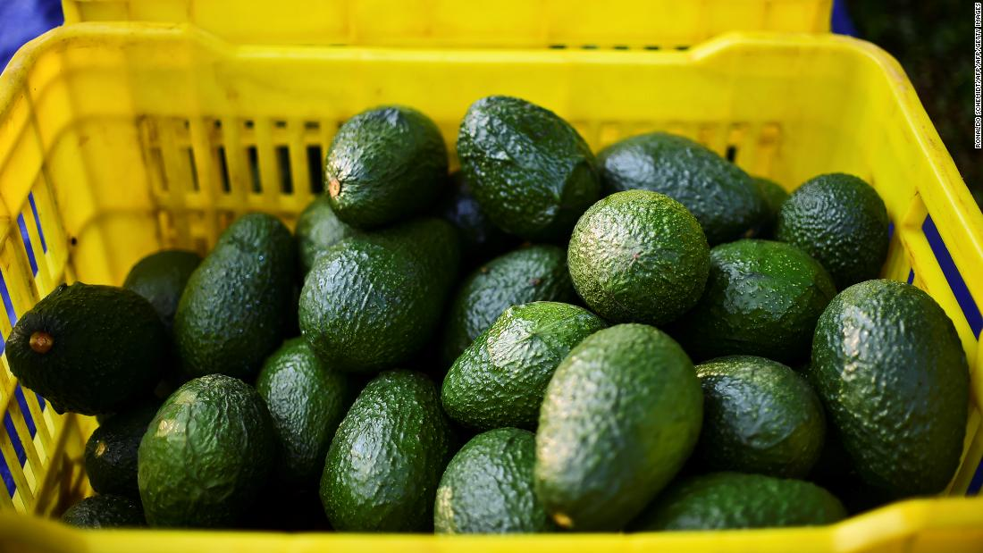 Avocados recalled in 6 states