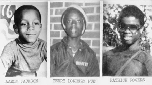The families of Patrick Rogers, Terry Pue and Aaron Jackson don't know who killed their loved ones.