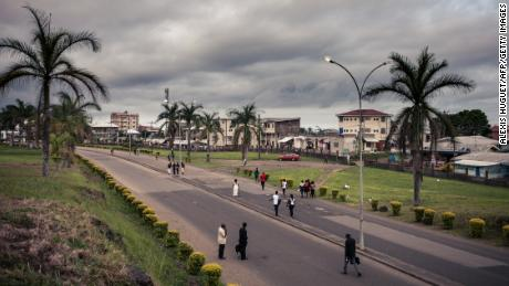 The entrance to the University of Buea in southwestern Cameroon in April of 2018.
