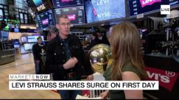 Levi's CEO: Don't put jeans in the freezer