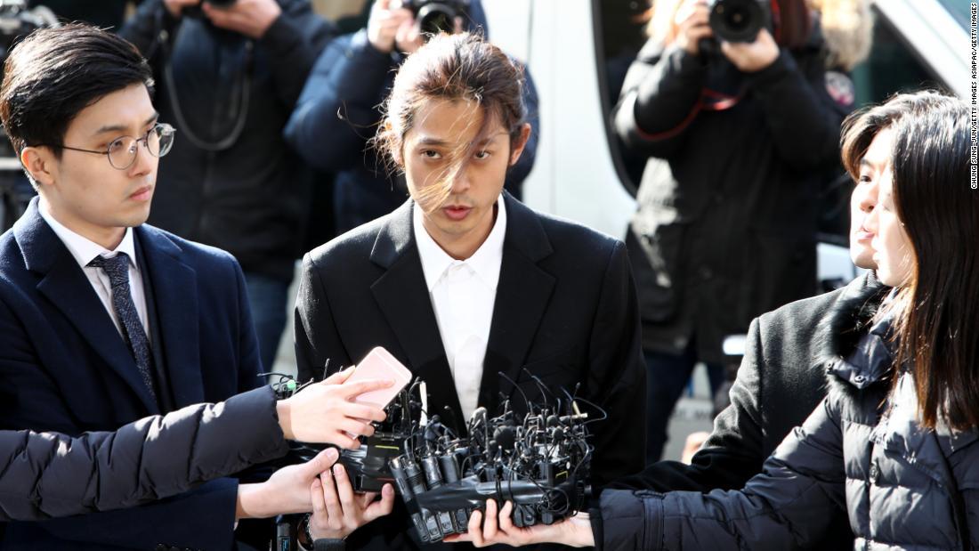 K-pop star arrested in sex video scandal
