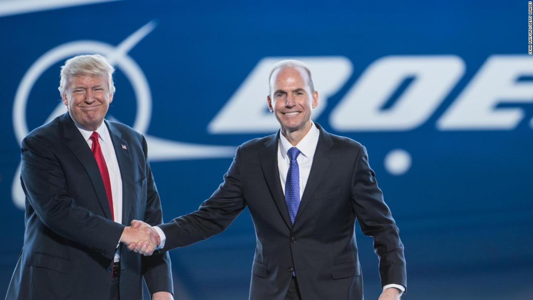 Trump's advice to Boeing following fatal crashes: 'REBRAND'