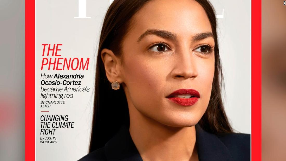 Ocasio-Cortez, 'second most talked-about politician in America,' graces Time cover