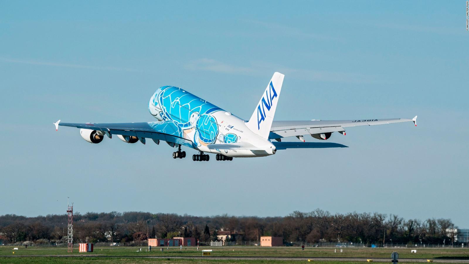 Flying turtle' A380 ready for takeoff | CNN Travel