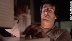 "Stallone's character prepares his ""breakfast of champions"" in the film ""Rocky."""
