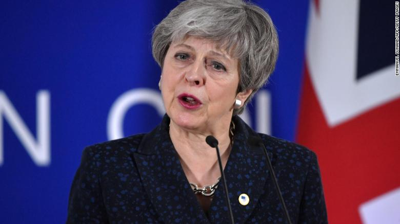 Brexit delay agreed after tumultuous talks with Theresa May