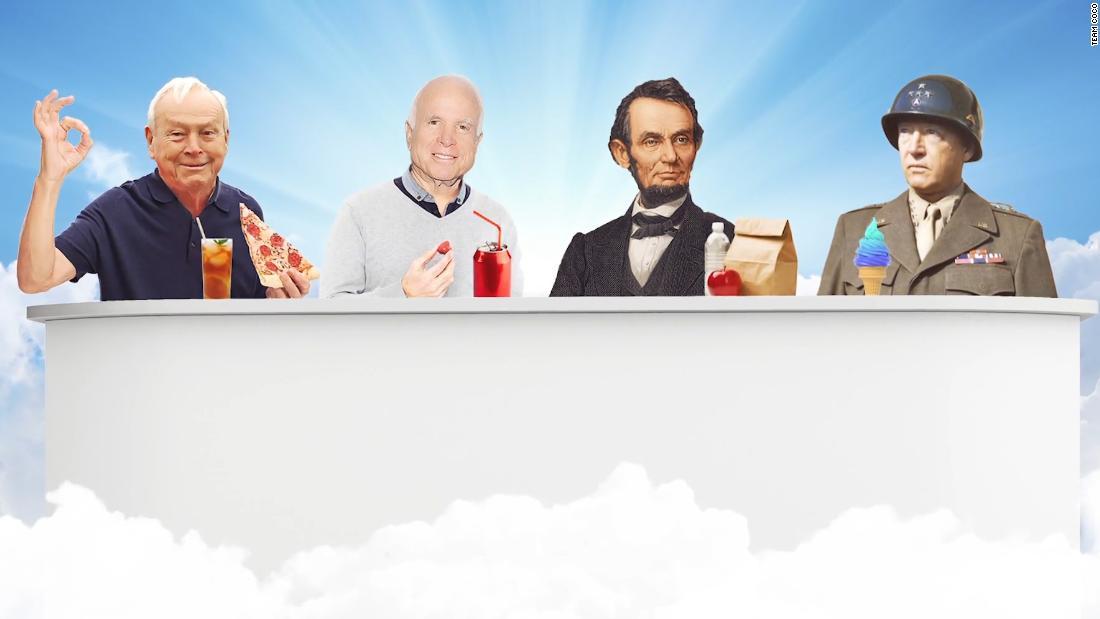Conan mocks Trump's attacks on McCain with fake ad