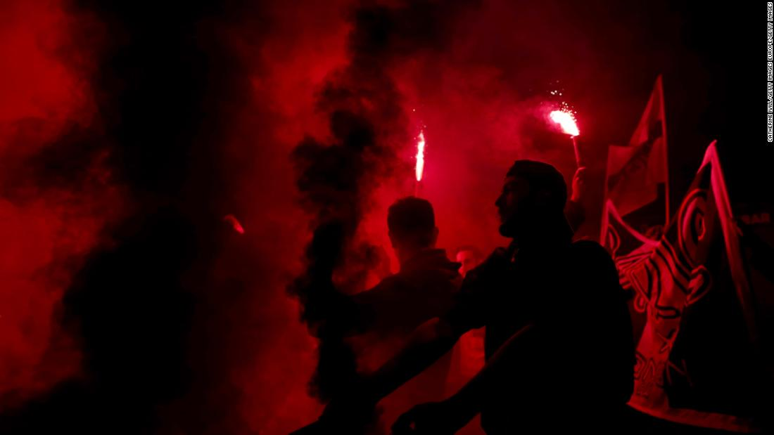 PSG fans found with drugs and weapons on way to match