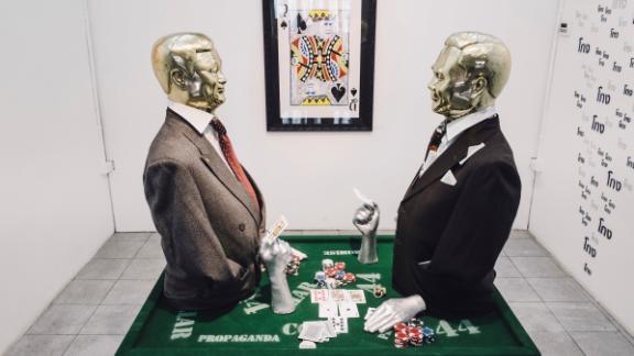 "Headache Stencil's exhibition ""Thailand Casino"""