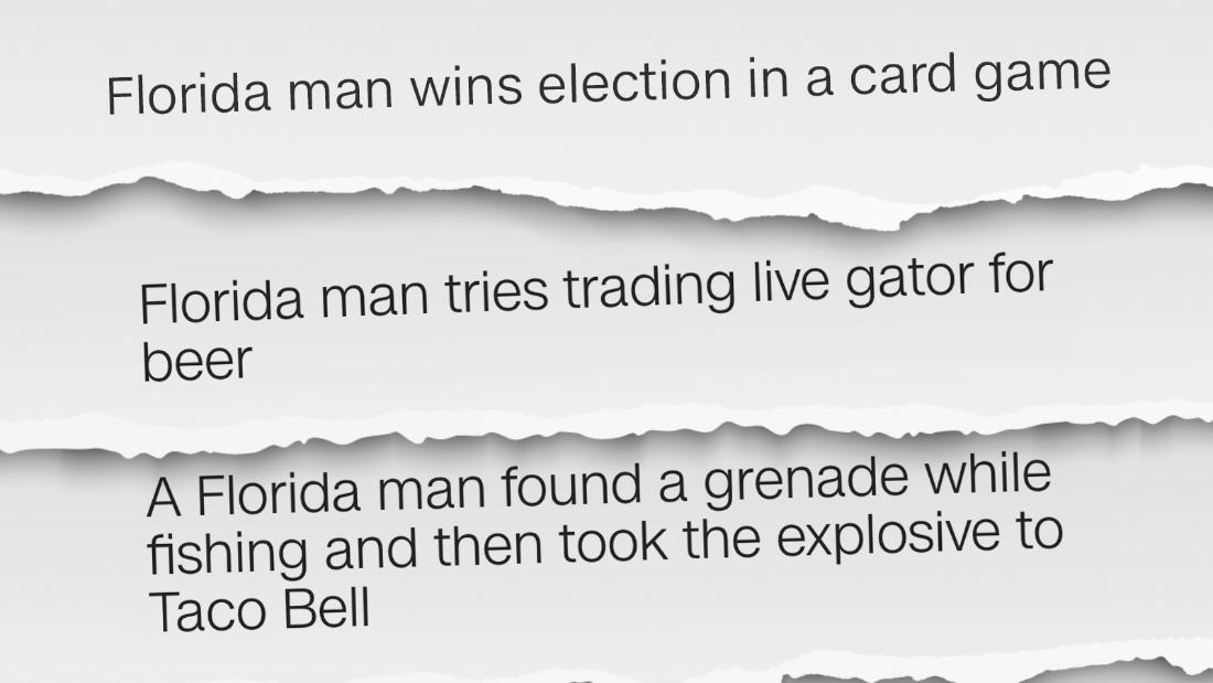 Why people are Googling 'Florida man'