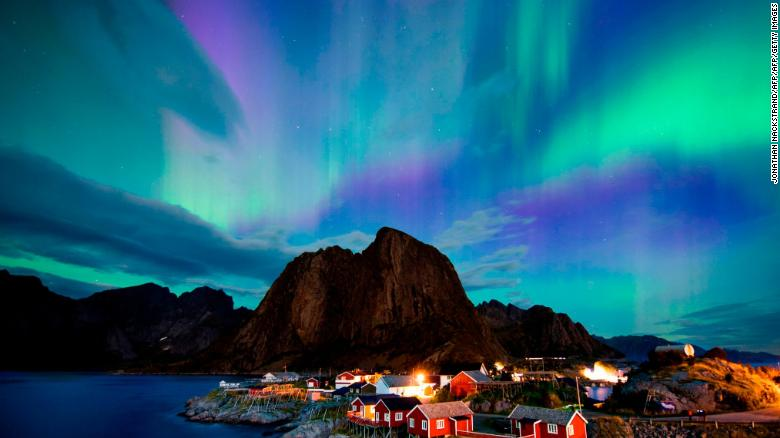 Image result for The northern lights will be visible in parts of the US tonight