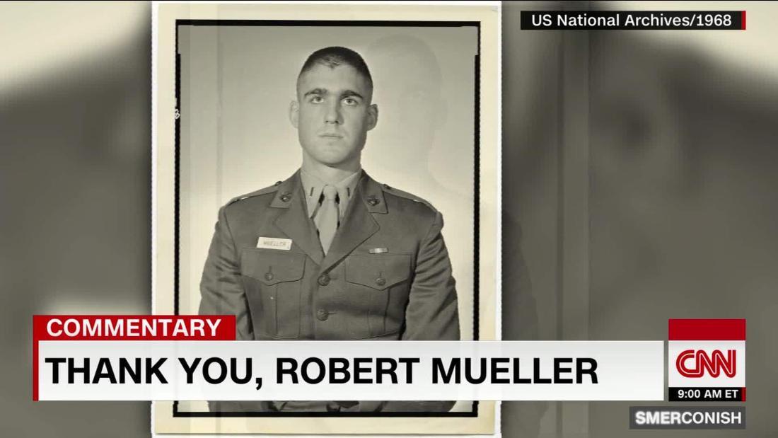 Comment: Thank you, Robert Mueller