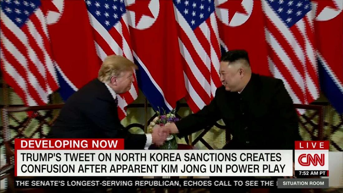 Trump holds off on new North Korea sanctions