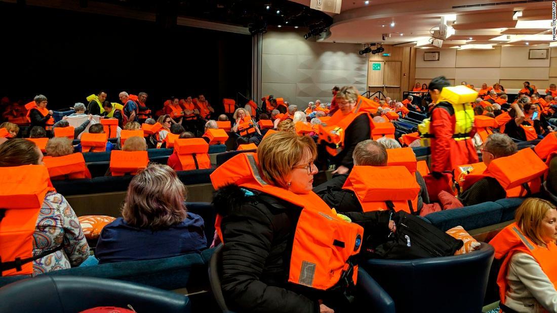 Passengers describe the desperate wait for rescue