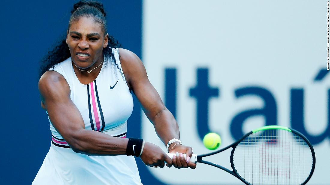 Serena Williams withdraws from Miami Open through injury