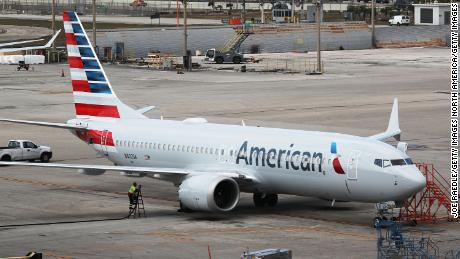 An American Airlines Flight Returned To Jfk After Hitting A Sign During Takeoff