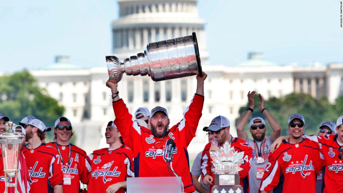 Several Washington Capitals players say they will skip the team's White House visit Monday
