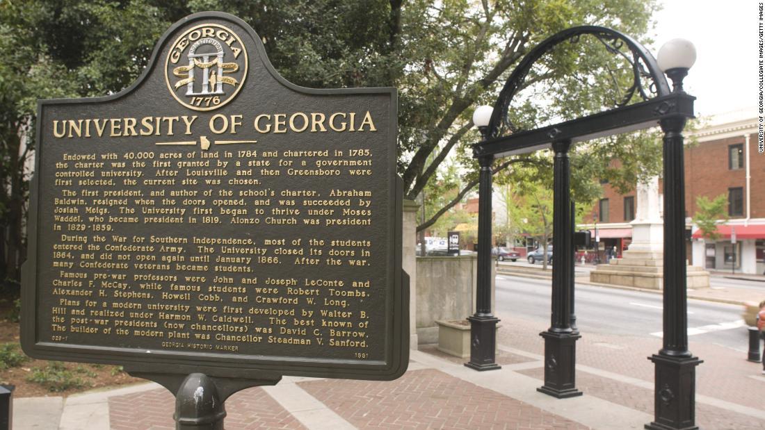 UGA fraternity suspended over video mocking slavery, using racial slur