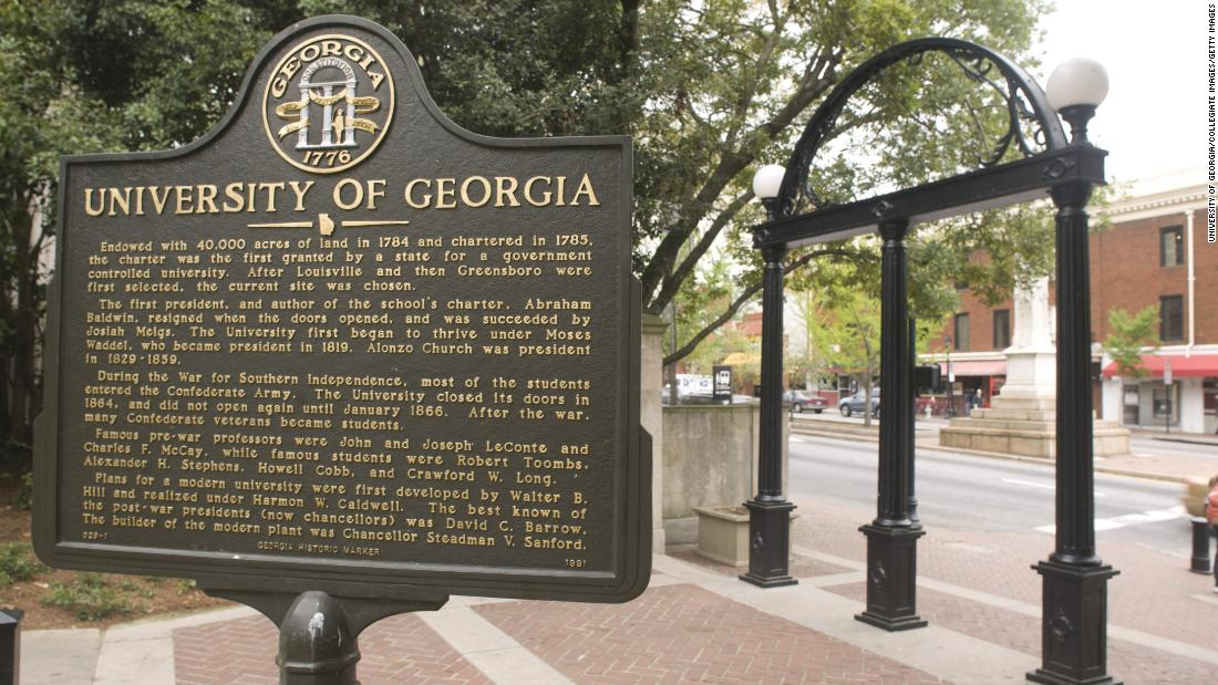 UGA fraternity suspended over video mocking slavery, using racial slur