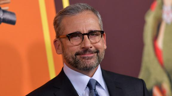 Steve Carell told a few lies while playing a game with Ellen DeGeneres. (Photo by Chris Delmas / AFP)