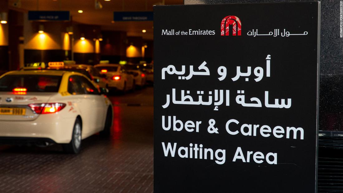 Uber is buying its Middle East rival for $3.1 billion