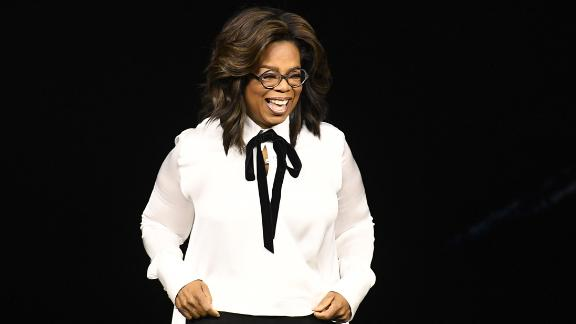 Oprah Winfrey announces new Apple projects