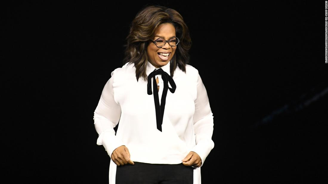 Oprah unveils documentary projects, book club for Apple
