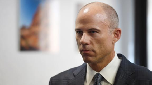 Attorney Michael Avenatti listens to a question during a news conference with Battle Born Progress, a progressive communications organization, on August 31, 2018 in Las Vegas, Nevada. (Ethan Miller/Getty Images)
