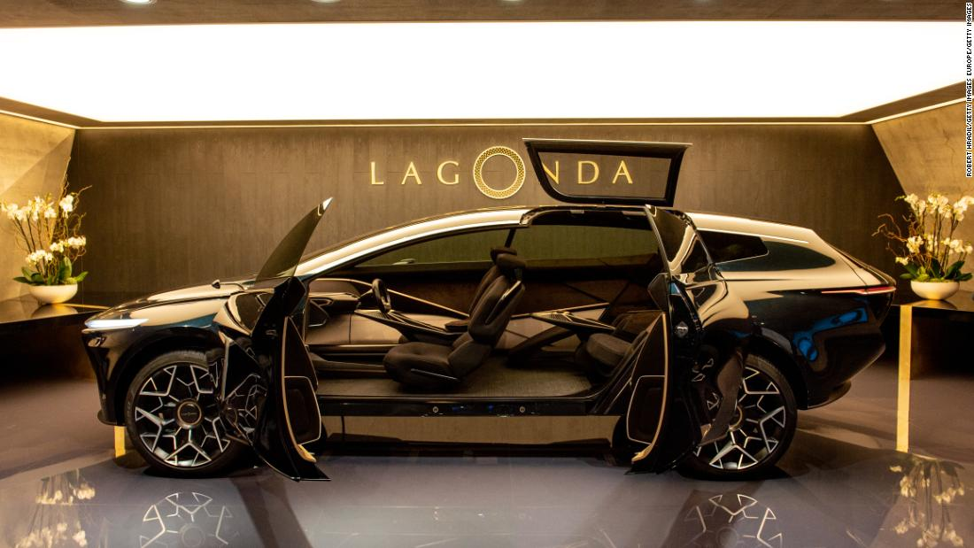 Though not a supercar, Aston Martin's Lagonda expects to revolutionize road travel with its vast, luxurious interior. The manufacturer estimates production on its new range of luxury, low-emission vehicles will begin in 2021.