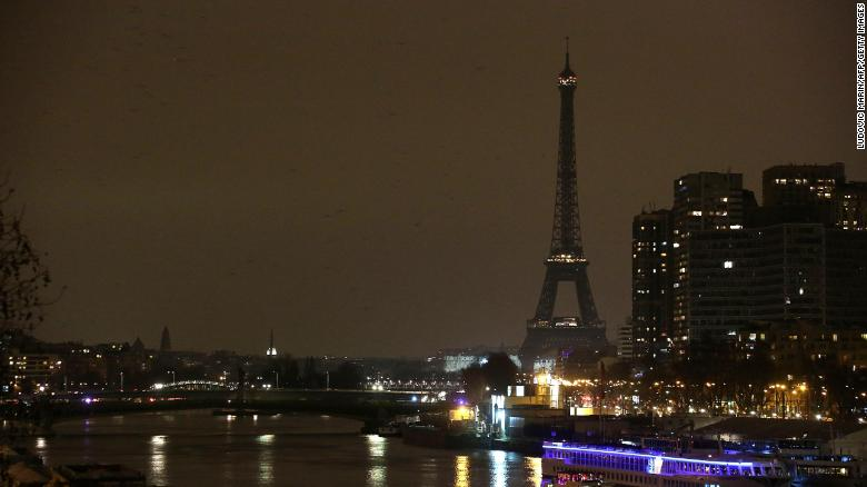 For a brief period tonight, some parts of the world will go dark. It's Earth Hour