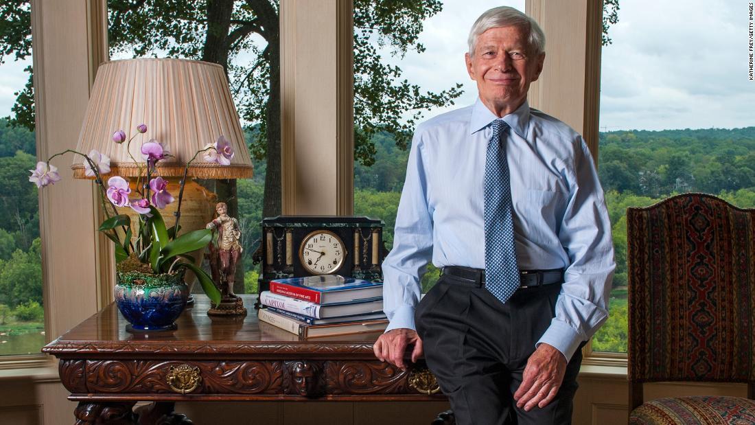GOP elite fundraiser and former Marriott honcho Fred Malek is dead at 82