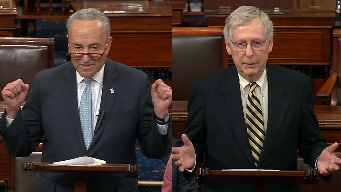 McConnell blocks move by Schumer to pass resolution calling for Mueller report to be made public