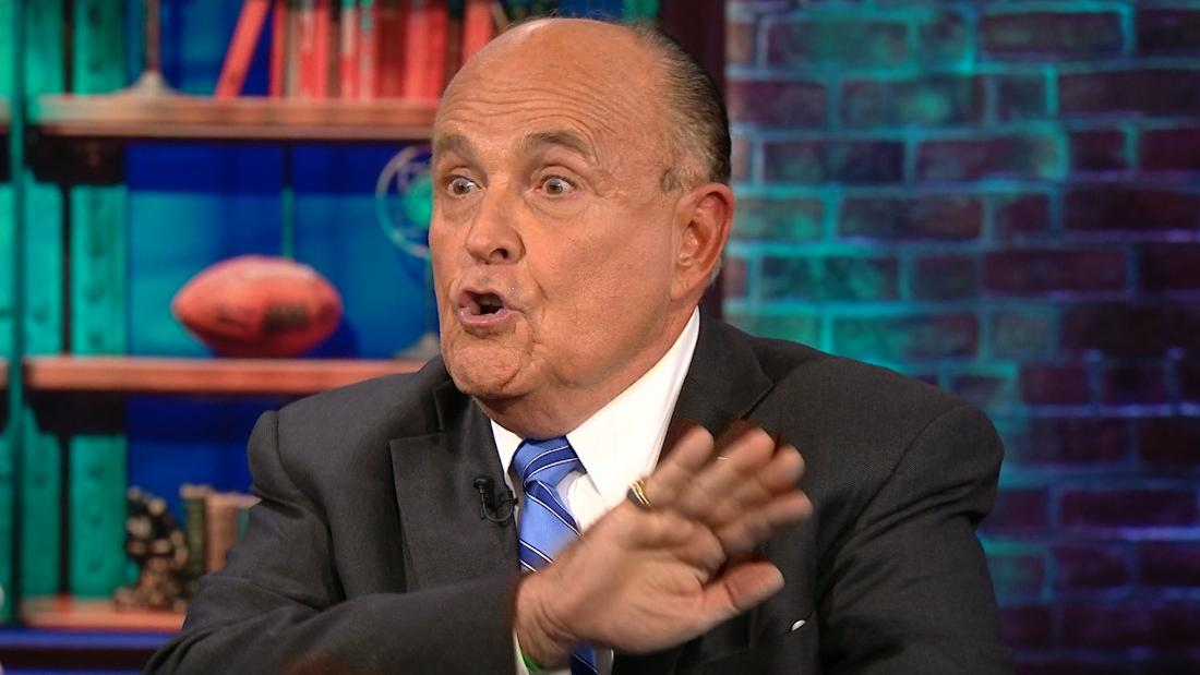 Rudy Giuliani is totally cool with taking dirt from the Russians!