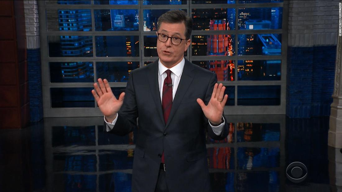Late-night talk shows react to the Mueller report