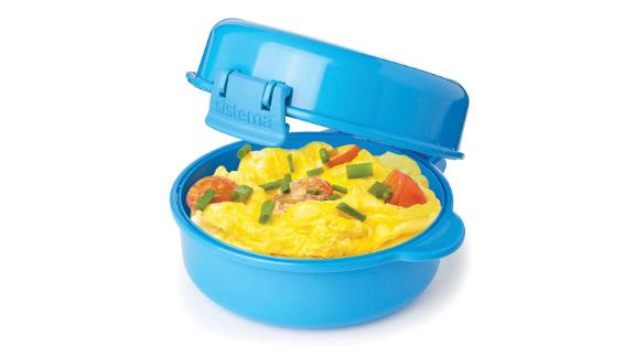 """<strong>An easy way to cook eggs in the morning</strong> Sistema Easy Eggs to Go Microwave Egg Cooker ($10.85; <a href=""""https://amzn.to/2URecwo"""" target=""""_blank"""" target=""""_blank"""">amazon.com</a>) <br />"""