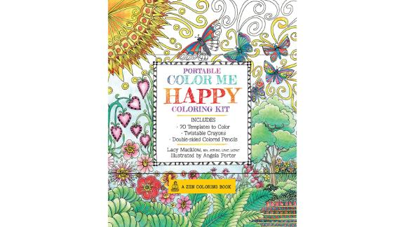 """<strong>For when you need a little art therapy </strong>Portable Color Me Happy Coloring Kit ($6.98; <a href=""""https://amzn.to/2UTQtfa"""" target=""""_blank"""" target=""""_blank"""">amazon.com</a>)"""