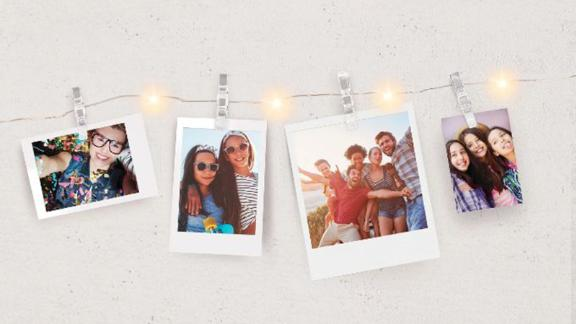 """<strong>No prettier way to hang your photos than on a string of fairy lights</strong> Merkury Mini LED Photo Clip String Lights ($12.99; <a href=""""http://bit.ly/2YfVsJm"""" target=""""_blank"""" target=""""_blank"""">target.com</a>)"""