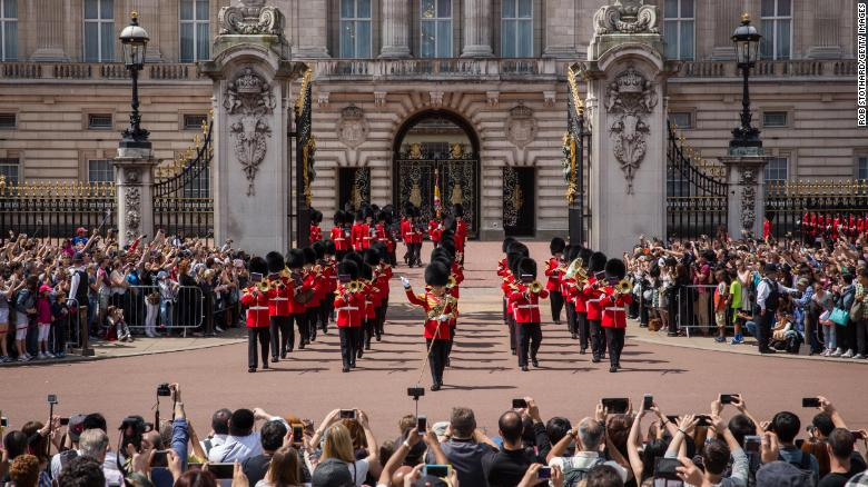 Buckingham Palace admits it 'must do more' on diversity in annual report
