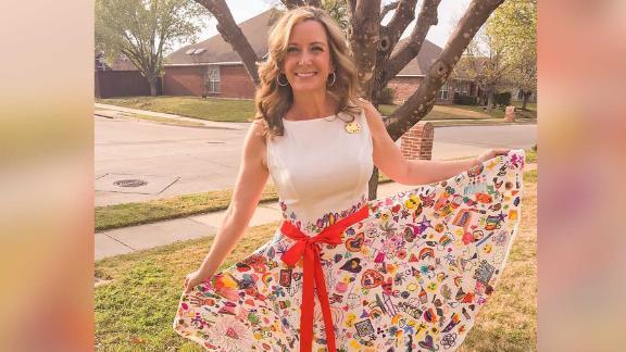 A Texas elementary school teacher turned her students