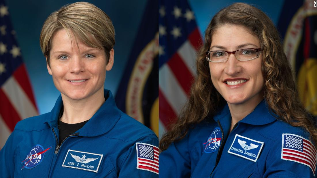 NASA has scrapped its first all-female spacewalk for now because there aren't enough spacesuits that fit