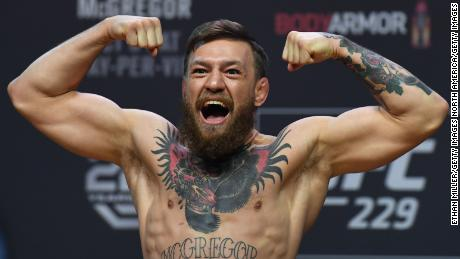 McGregor has not won in the Octagon since 2016.