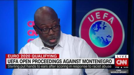 England players suffer racism in Montenegro