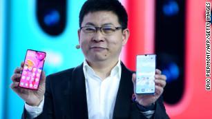 Huawei unveils new smartphones in Europe