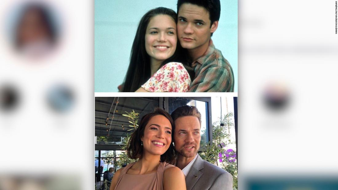 'A Walk to Remember' co-stars reunite at ceremony