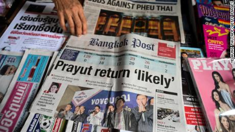 96fa3fb7191c6 Thai election 'not free and fair' says poll watchdog - CNN