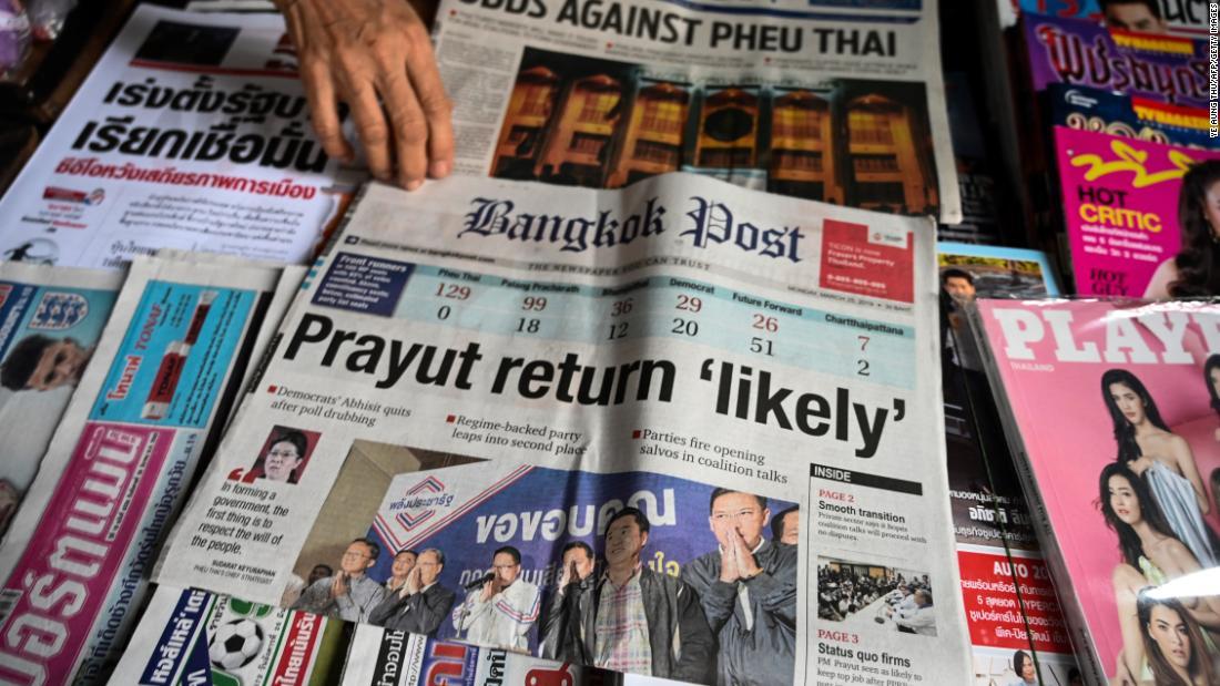 Thai election 'not free and fair' says poll watchdog - CNN