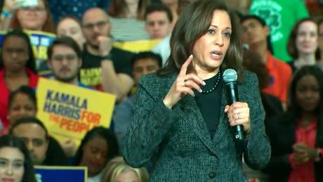 Kamala Harris introduces plan to raise teacher salaries