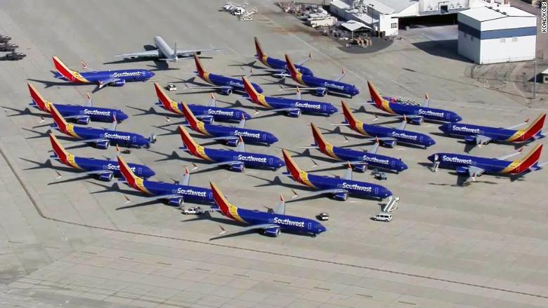 Boeing 737 Max aircraft makes emergency landing