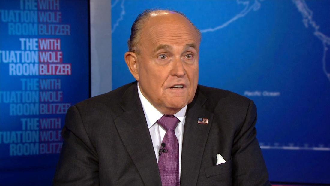 Giuliani: I wouldn't agree that Mueller acted honorably