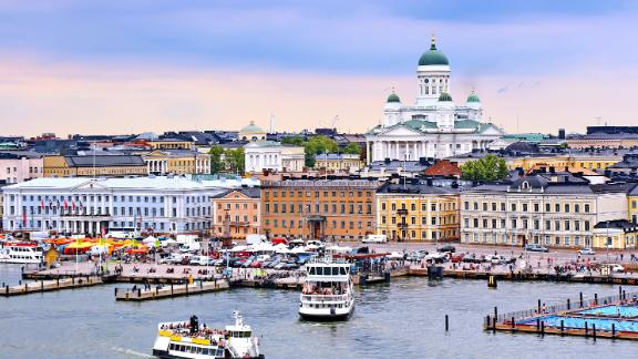 Helsinki, the capital of Finland, which has ranked as home to the world